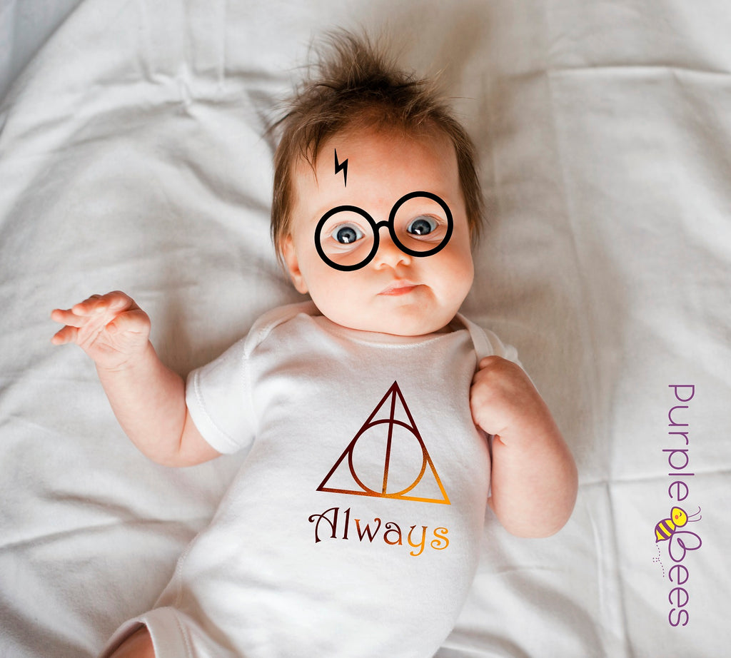 Infant Long Sleeve Harry Potter Bodysuit