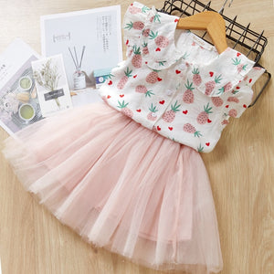 Lovely Summer Girlish Set