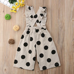 Wide Leg Toddler Jumpsuit