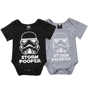 Darth Vader Fun Jumpsuit-Baby Jumpsuits-Purple Bees