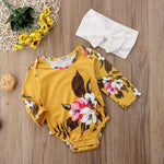 2pcs Fashionista Baby Girl Outfit-Baby Jumpsuits-Purple Bees
