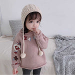 Baby Floral Knitted Sweater