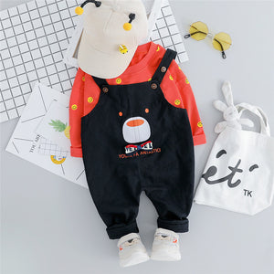 Cute Autumn Unisex Bear Outfit