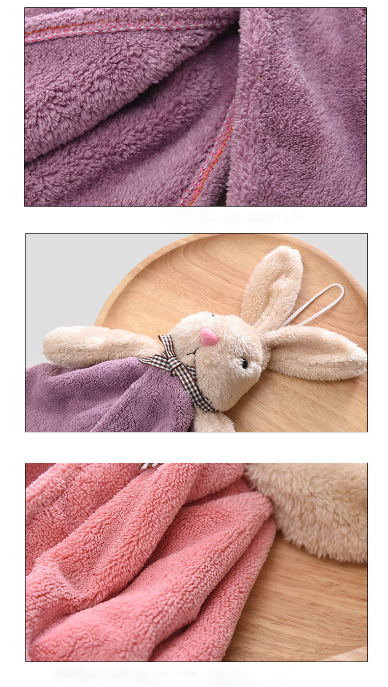 Cute Cartoon Baby Bath Bunny Towels
