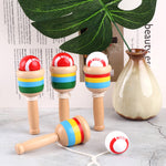 Montessori Wooden Sword Cup Ball
