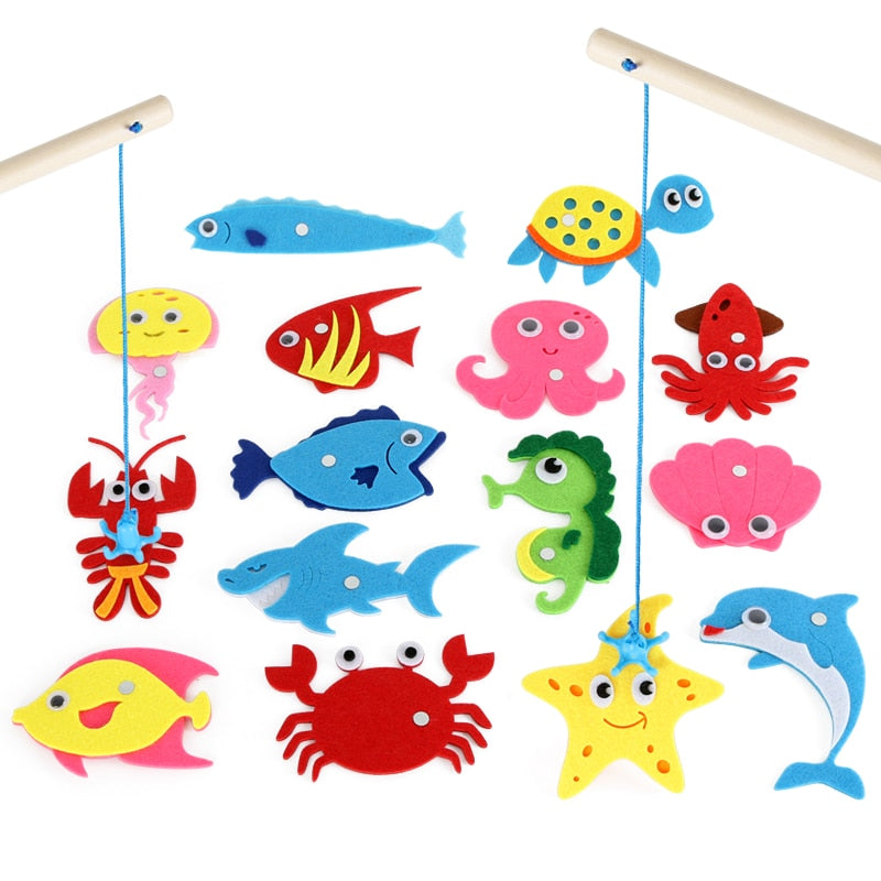 baby fishing educational toy