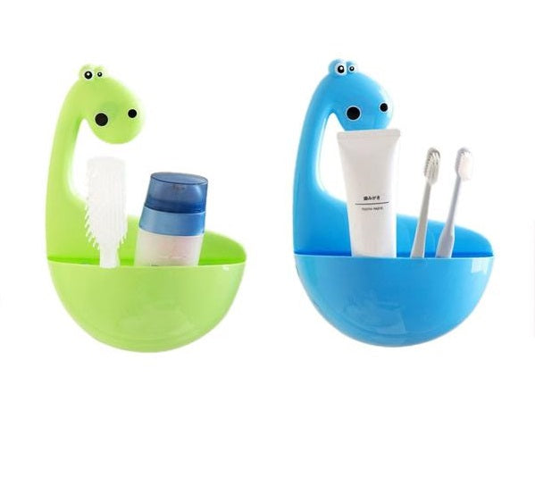 Creative High Quality Dinosaur Toothbrush Holder-toothbrush holder-Purple Bees