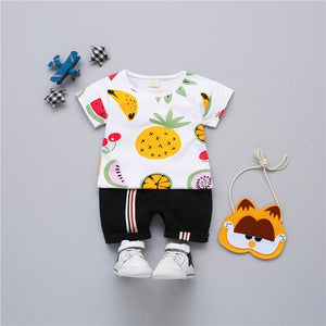 Summer Fruit Cocktail Unisex Set For Kids