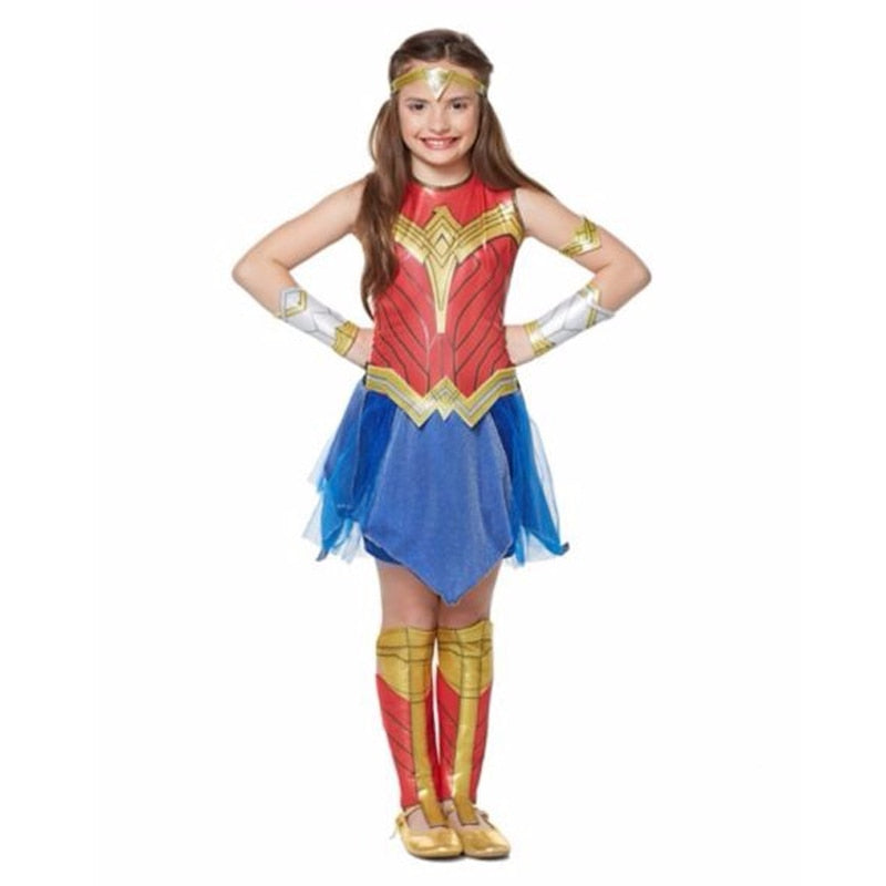 Wonder Woman Costume-halloween costume-Purple Bees
