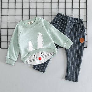 Cute Cotton Bunny Clothing Set