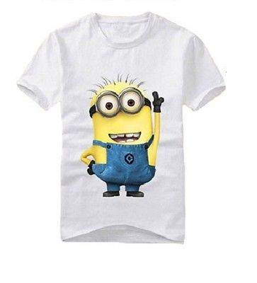 Your Childs Favourite T-shirt With Minion Print-unisex top-Purple Bees