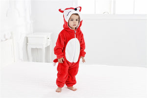 Funny Fox Animal Romper Outerwear