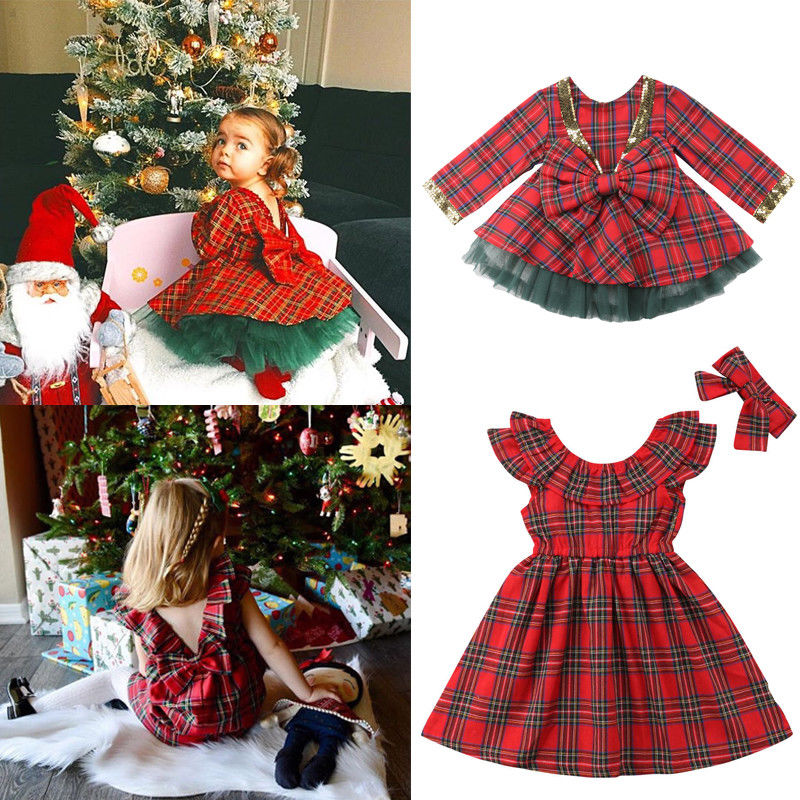 Xmas Pretty Party Dress