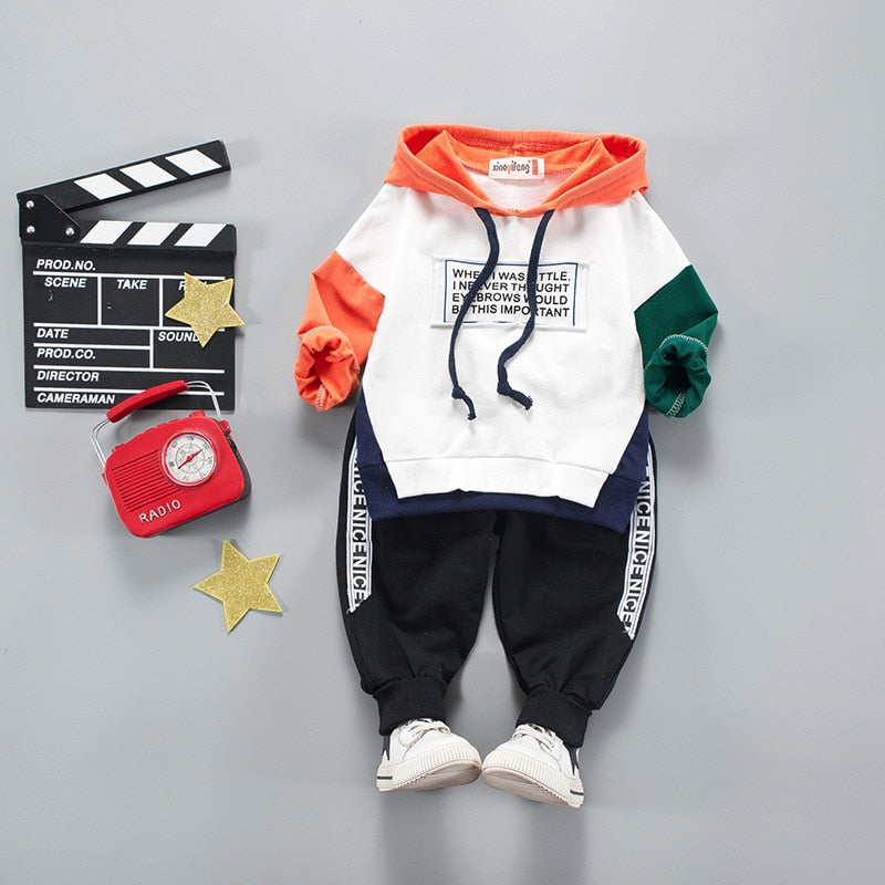 Sport Spring-Autumn Unisex 2Pcs Set