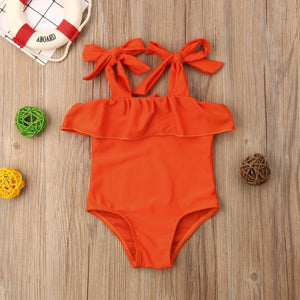 Girls One Piece Stylish Swimwear