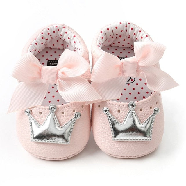 Lovely Princess First Shoes-infant shoes-Purple Bees