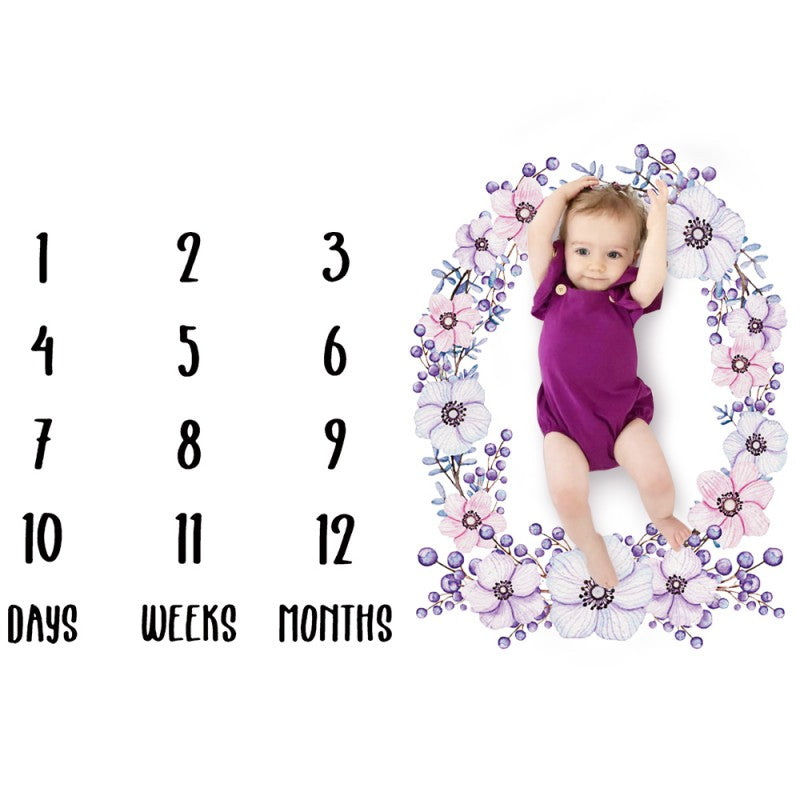 Adorable Infant Photoshoot Decor-accessorises-Purple Bees