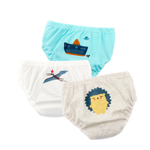 Cute Baby Animal Cartoon Briefs