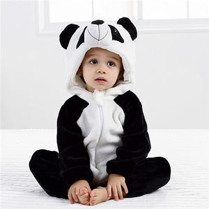Funny Baby Panda Romper Outerwear