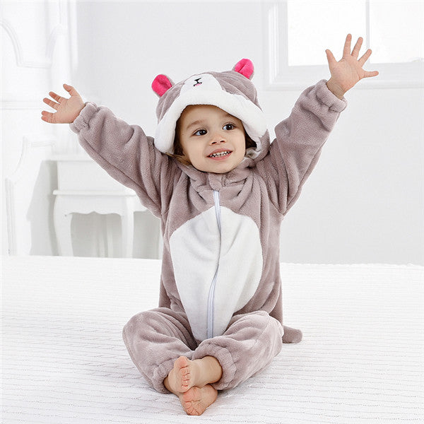 Funny Baby Animal Romper Outerwear