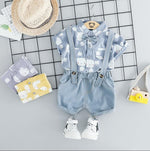 Adorable Romper and T-shirt Set