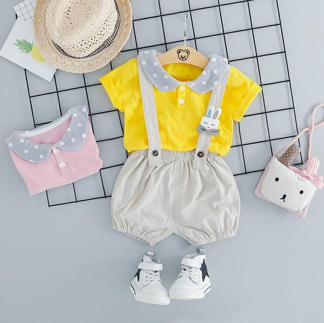 Summer Girlish Bunny Set