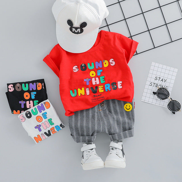 Adorable Unisex Summer Outfit