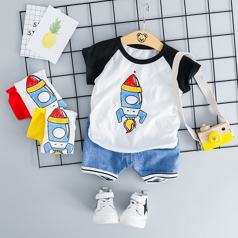 Rocket T-shirt and Shorts