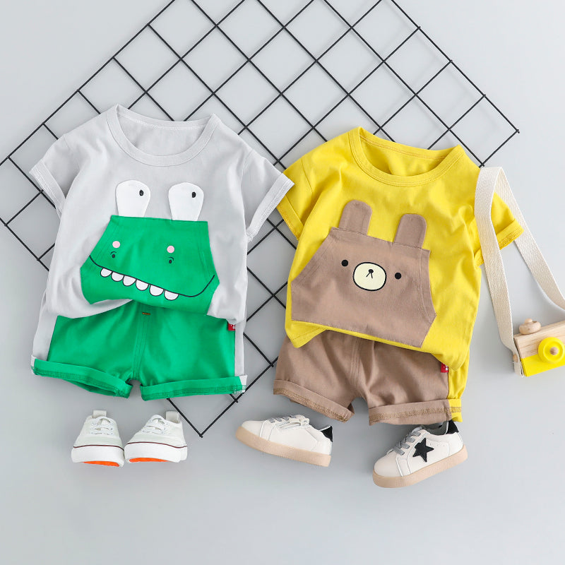 Adorable  Suits For Toddlers With Cartoon Characters