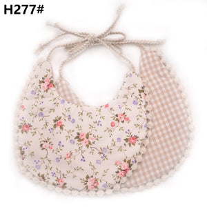 Pretty Baby Bibs With Various Patterns-accessorises-Purple Bees