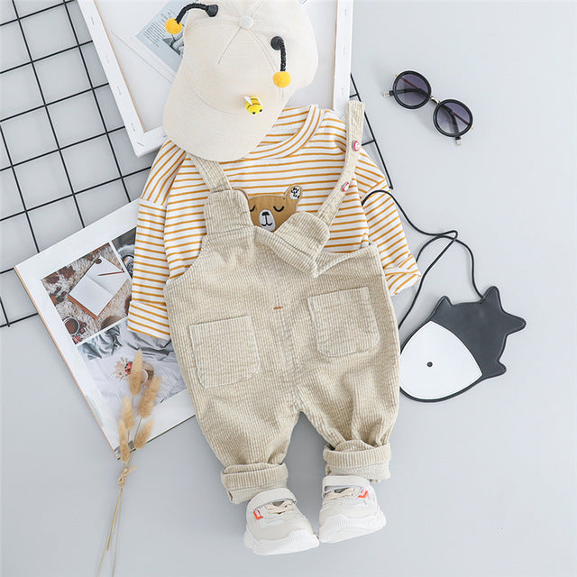 Baby Unisex Bear Clothing Sets