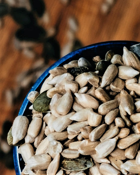 Toasted Pumpkin & Sunflower Seeds, the perfect after-surf snack!
