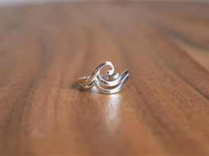 Double Wave Ring - Ocean Gypsy NZ