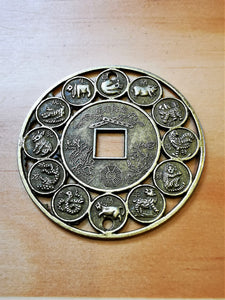 Feng Shui Lucky Coin - Ocean Gypsy NZ