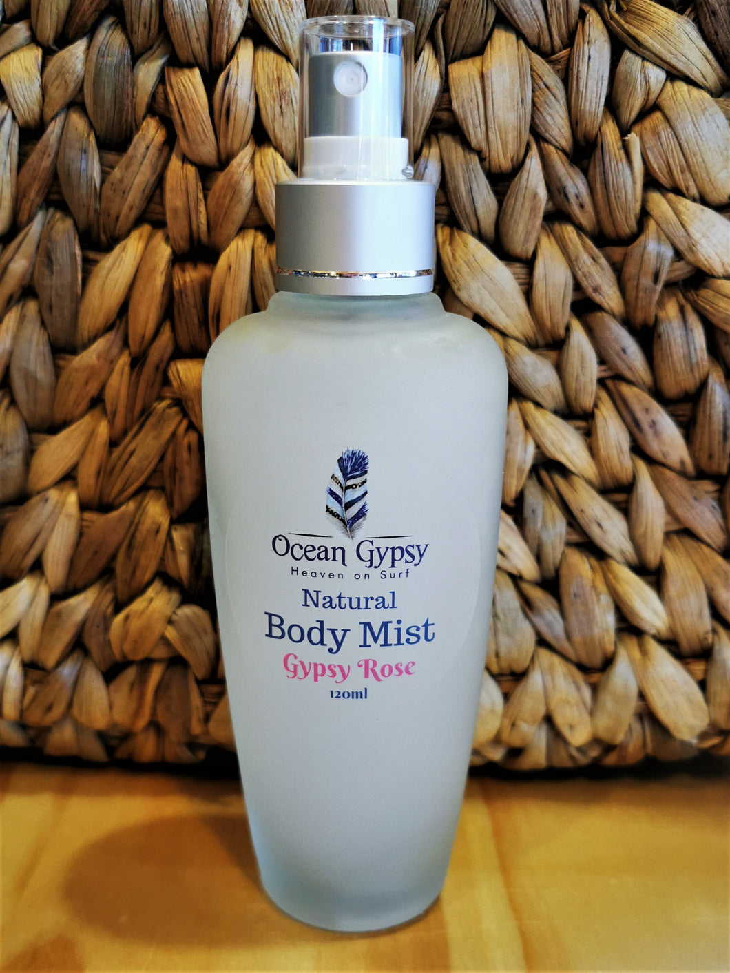 Ocean Gypsy Body Mist in Gypsy Rose Scent - Ocean Gypsy NZ