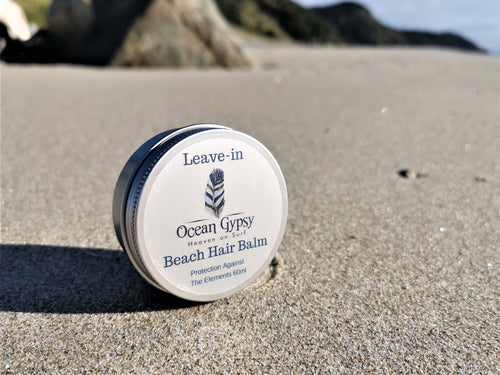 Ocean Gypsy Leave-in Beach Hair Balm, no frizz & nourishes your hair. - Ocean Gypsy NZ