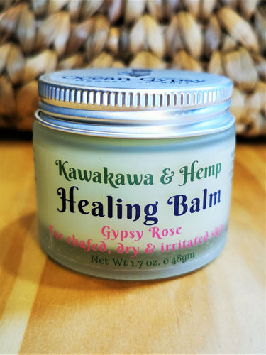 Ocean Gypsy Healing Balm with Kawakawa & Hemp - Ocean Gypsy NZ