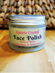Quartz Crystal Face Polish - Ocean Gypsy NZ