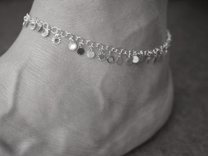 Sun Disc Anklet - Ocean Gypsy NZ
