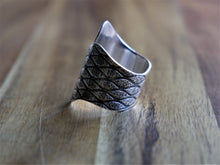 Load image into Gallery viewer, Ocean Gypsy Oceania Wave Solid Ring in 925 Sterling Silver - Ocean Gypsy NZ