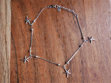 Load image into Gallery viewer, Starfish Silver Anklet - Ocean Gypsy NZ