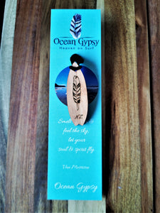Ocean Gypsy Surfboard Necklace - Ocean Gypsy NZ