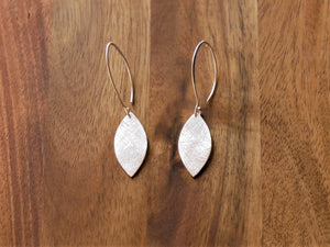 Sterling Silver Solid Surfboard Earrings - Ocean Gypsy NZ