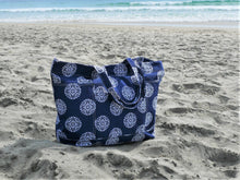 Load image into Gallery viewer, Ocean Gypsy XL Boho Beach Bag - Ocean Gypsy NZ