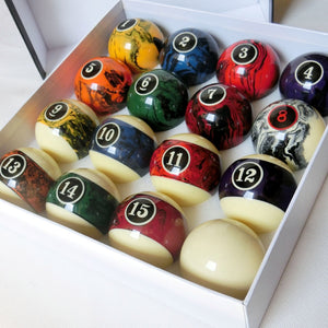 Ball set for biliard size 2-1/4inch (16 ball)