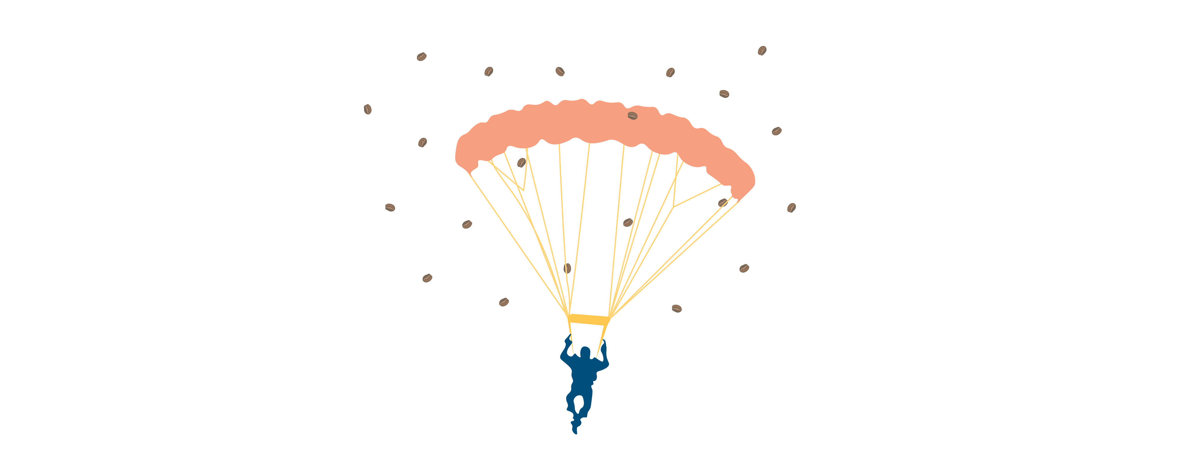 skydiving in coffee