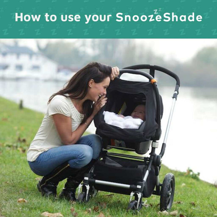How to use SnoozeShade baby sunshades