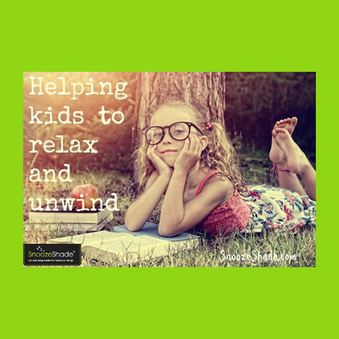 Helping kids to relax and unwind