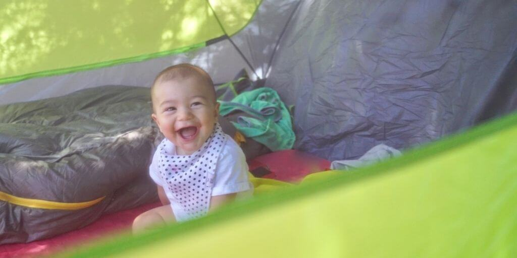 Things I love about... camping with baby