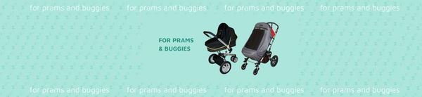 Pram and buggy sun shades